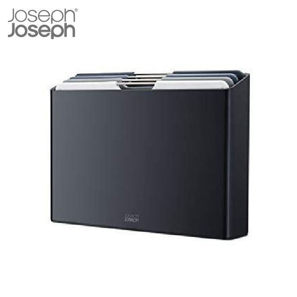【P10倍】JosephJoseph フォリオ ラージ グラファイト まな板セット 60184 ジョセフジョセフ CODE:5014922