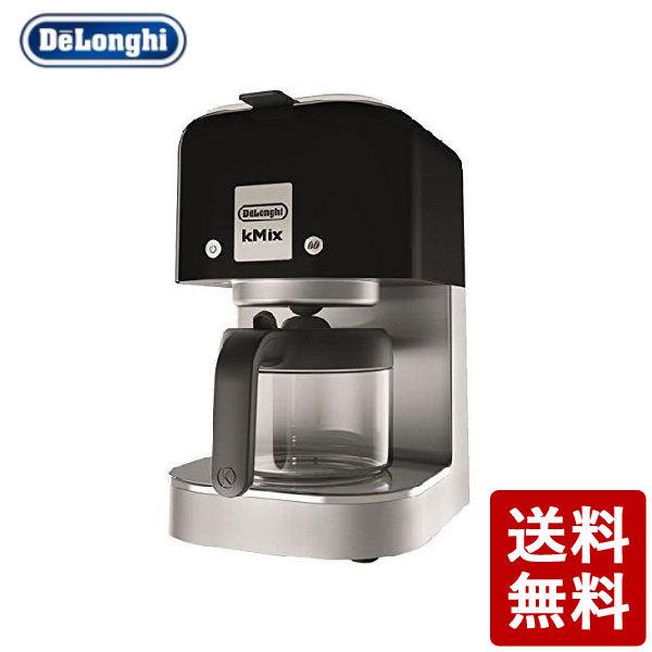 【全品P5倍~10倍】DeLonghi kMixコレクション ドリップコーヒーメーカー リッチブラック デロンギ・ジャパン CODE:224220 黒