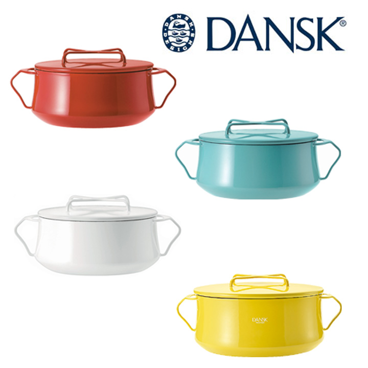 DANSK(ダンスク) KOBENSTYLE(コベンスタイル) 両手鍋 23cm (4QT)