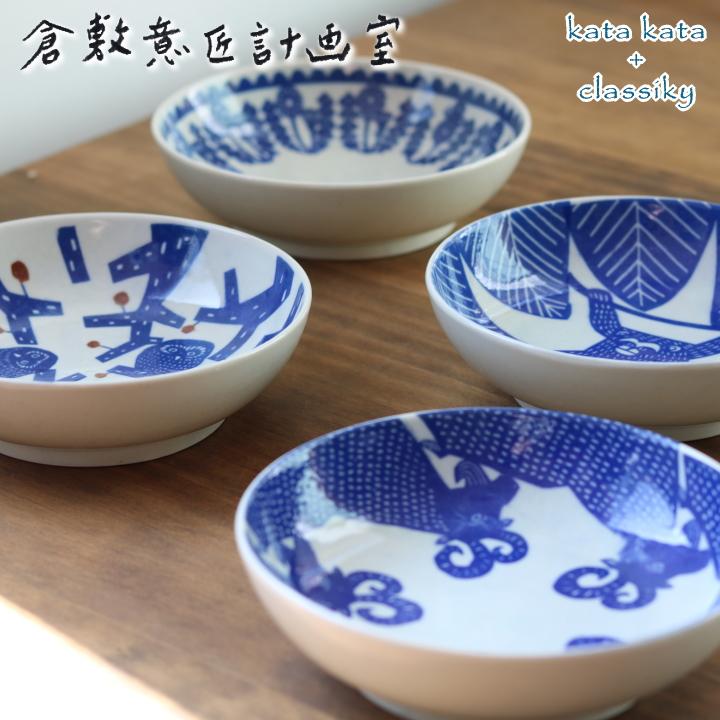 倉敷意匠 katakata カタカタ 食器プレート 代引き不可 再入荷 予約販売 動物 印判手なます皿 クーポン発行中 アニマル 日本製