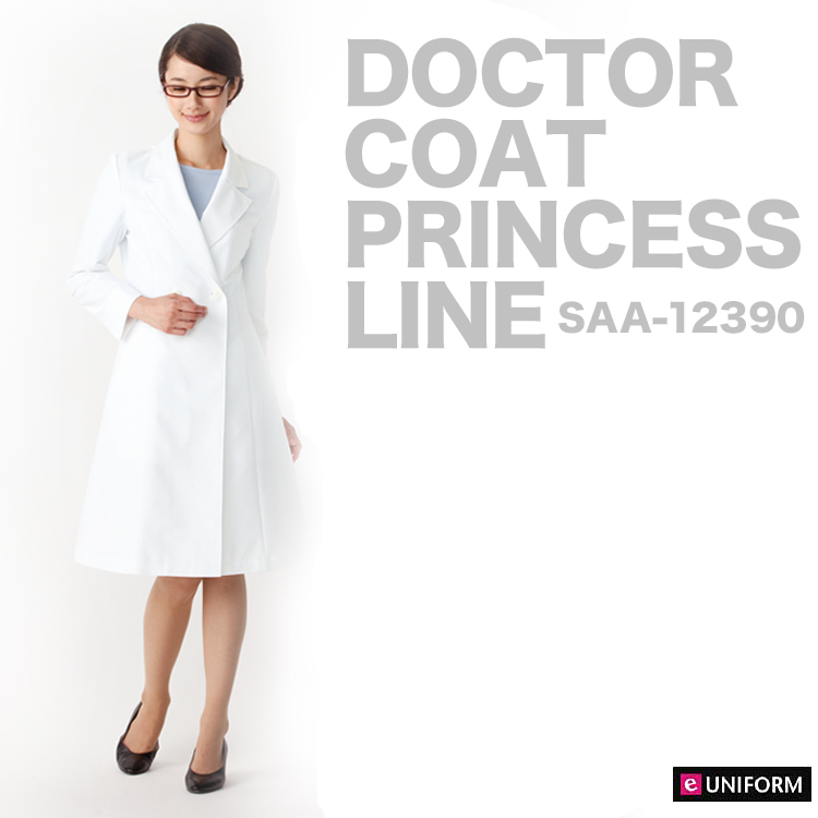 e-UNIFORM: Ladies \' doctor coat doctor cloth gown white long sleeve ...
