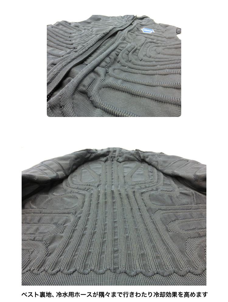 【5,400円以上ご購入で】冷却下着ベスト型 熱中症対策 冷却ベスト 作業ベスト 冷却服 TEK-scb-14002 暑さ対策 涼しい サバゲー サバイバルゲーム 冷却効果 夏 畑作業 塗装