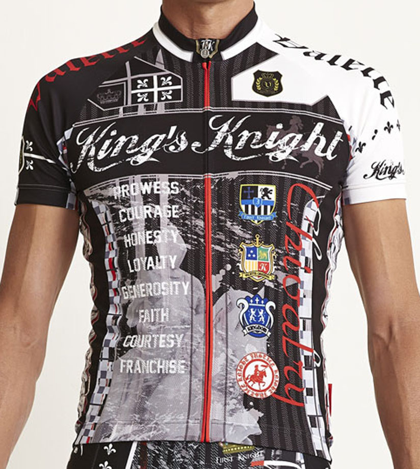【VALETTE/バレット】King's Knight Knight Black(キングスナイト ブラック) ブラック) 半袖【サイクルジャージ/サイクルウェア/自転車/レプリカ/サイクル/ロードバイク/ウェア/ユニフォーム/ランニングウェア/フィットネスウェア】, ペットフード&用品の店 マブチ:4ee8d102 --- sunward.msk.ru