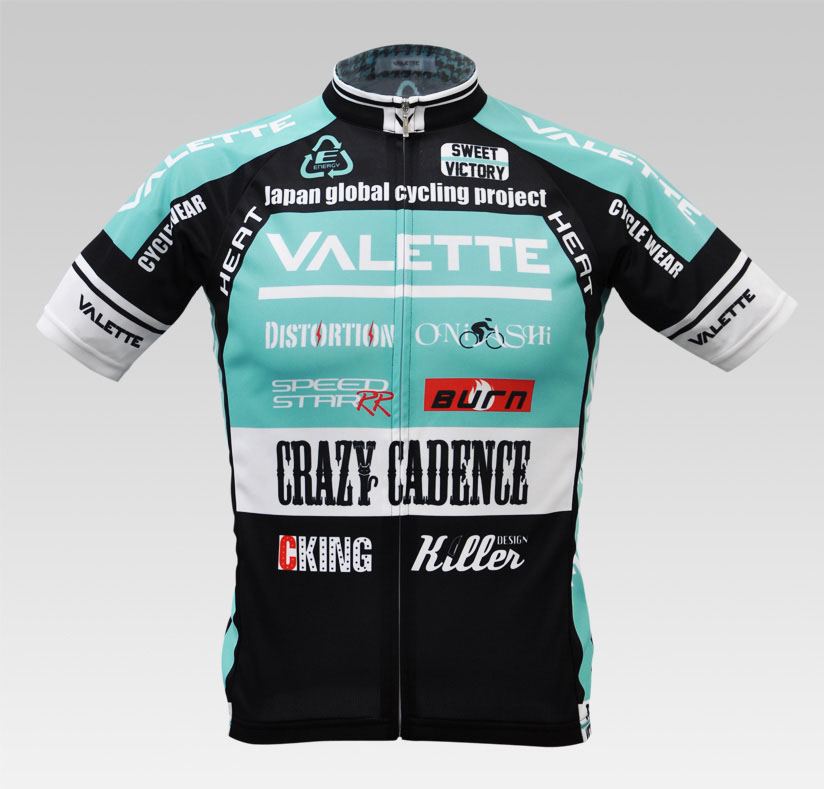 【VALETTE/バレット】SPEED (スピード)Celeste(チェレステ) 半袖 VALETTE A-LINE【サイクルジャージ/サイクルウェア/自転車/レプリカ/サイクル/ロードバイク/ウェア/ユニフォーム/ランニングウェア/フィットネスウェア】ビアンキ/Bianchi