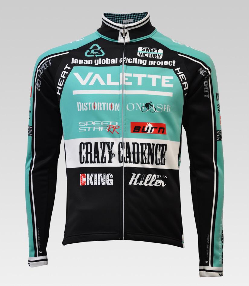 【VALETTE/バレット】SPEED (スピード)CELESTE(チェレステ) ウインタージャケット VALETTE A-LINE【サイクルジャージ/サイクルウェア/自転車/レプリカ/サイクル/ロードバイク/ウェア/ユニフォーム/ランニングウェア/フィットネスウェア】