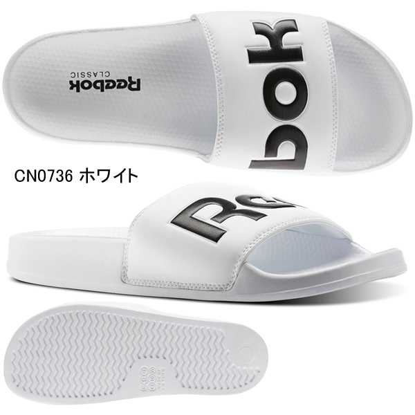 Reebok sandals classical music slide CN0735 CN0736 CN0739 BS7414 Reebok Lady's shoes shoes