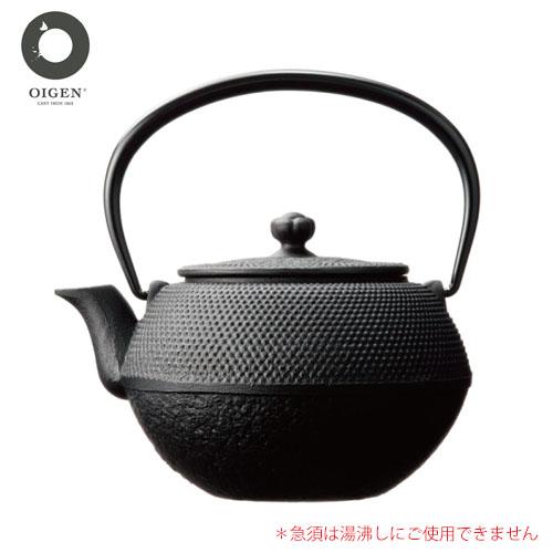 【日本製】 及源(OIGEN) 鉄急須 まろみアラレ 0.65L E-110-L