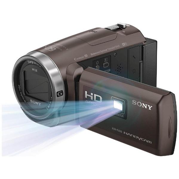 【送料無料!(沖縄および離島は別途)】ソニー HDR-PJ680-TI(ブロンズブラウン)デジタルHDビデオカメラ「HDR-PJ680」ハンディカム