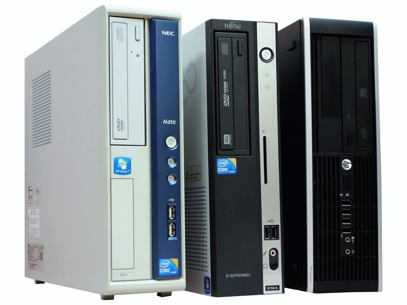 【27日(水)15:00~3月末まで!5%OFFクーポン&ポイント5倍!】中古パソコン デスクトップPC 機種おまかせ Corei3第三世代以上 メモリ16GB HDD500GB Windows10 Pro 64bit【送料無料】【100日保証】