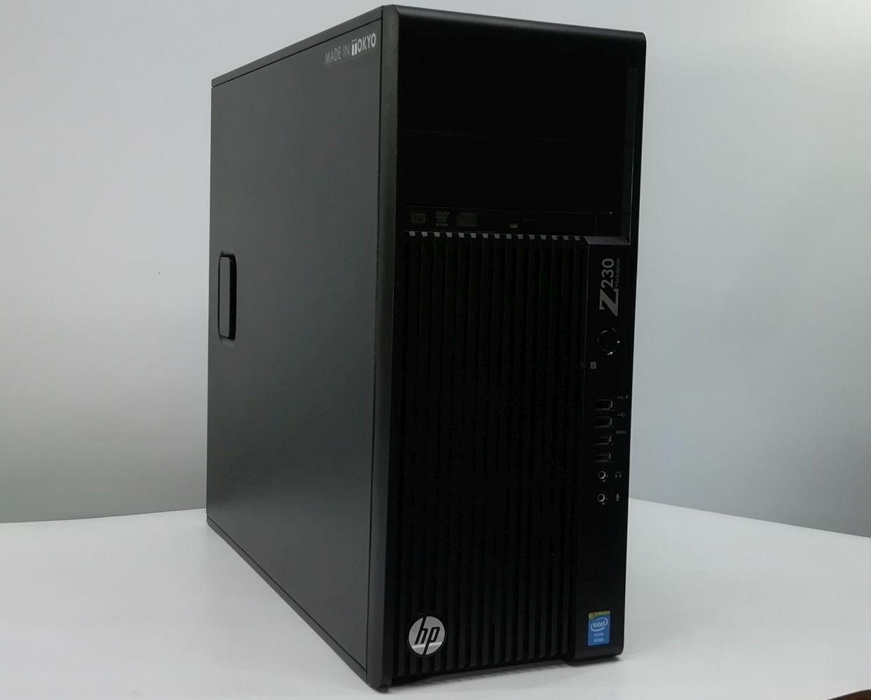 【GTX1650 SUPER搭載!】ゲーミングPC HP Z230 Tower Workstation Xeon E3-1230 v3 メモリ16GB SSD256GB HDD2TB Windows10 Pro 64bit【送料無料】【100日保証】