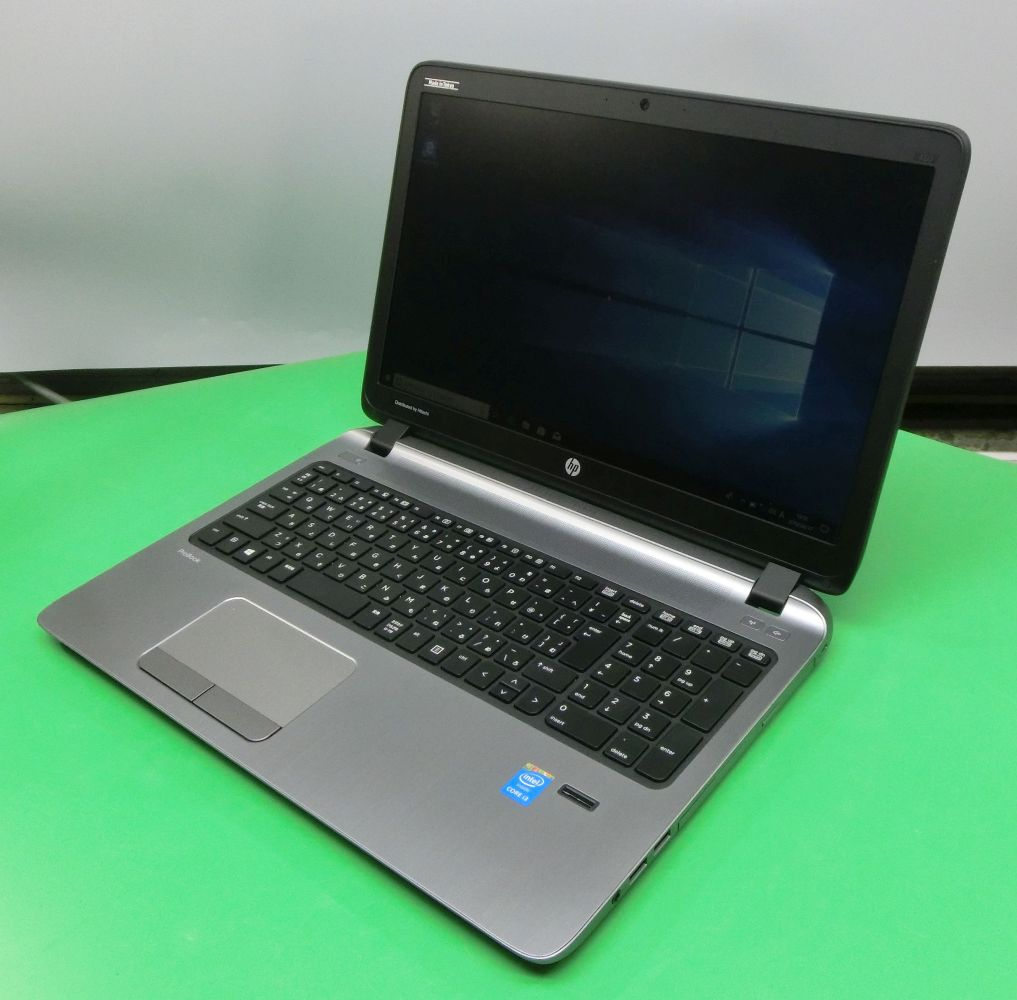 Used note PC HP ProBook 450 G2 Core i3-5010U memory 8GB HDD640GB Windows10  Pro 64bit