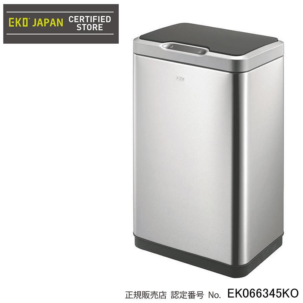 【送料無料】EKO(イーケーオー) ステンレス製ゴミ箱(ダストボックス) ミラージュ センサービン 30L シルバー EK9278MT-30Lhe
