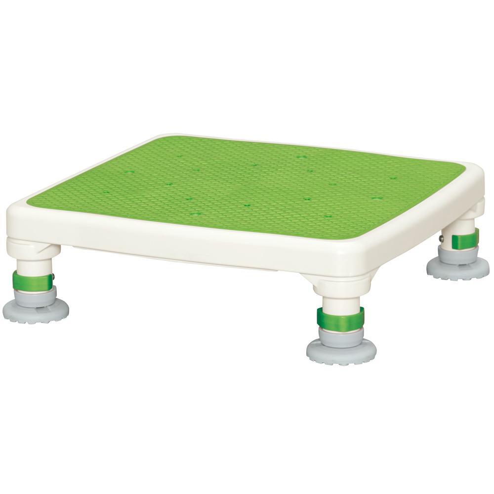 アルミ製浴槽台 あしぴたシリーズ ジャスト グリーン 10-15