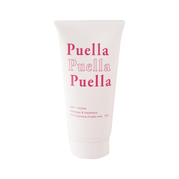 Puella プエルラ 市販 グラビアタレントも愛用 100g バスト用クリーム 日本全国 送料無料