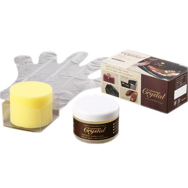 新作 皮革に栄養と自然な光沢を与え リフレッシュさせるクリーム コロンブス 保革クリーム ツヤ出し 100g オンラインショップ レザークリスタル100