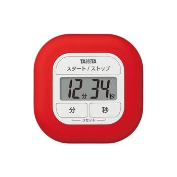 ラップで包めるシリコン製キッチンタイマー TANITA 期間限定特価品 タニタ くるっとシリコーンタイマー 上質 TD-420RD