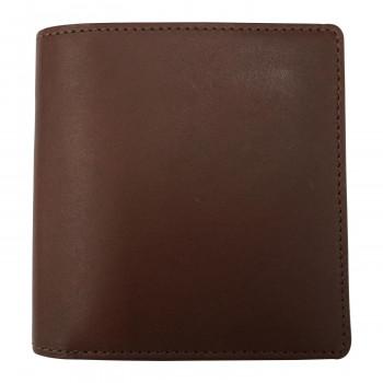 選択 薄型で機能的なデザイン THINly スィンリー 薄型収納財布 Bシリーズ SLB-S06 チョコ ファスナー小銭入れ付札入 小 爆安 本革