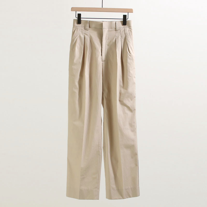 メーカー希望小売価格から50%OFF 品質保証 保証 50%OFF JANE SMITH ジェーンスミス SIDELINE 女性 レディース TUCK THREE PANTS ボトム