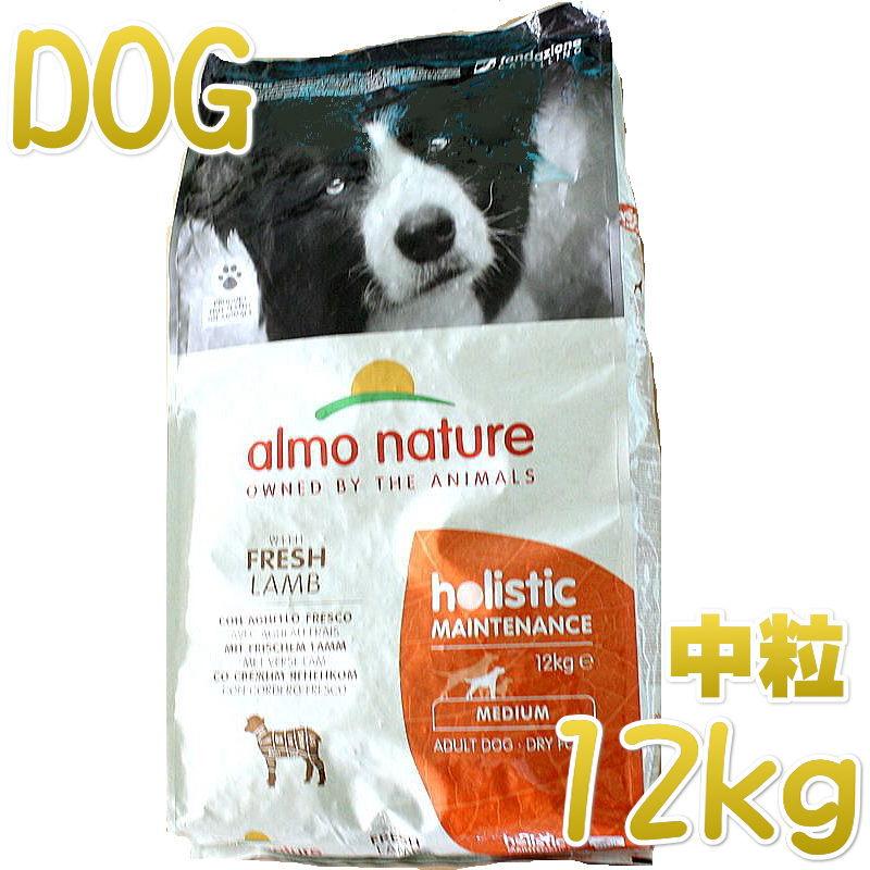 大好評です 最短賞味2021.6 アルモネイチャー 犬 ラム 中粒 ドッグフードalmo 12kg 予約 nature正規品 ald741成犬用ホリスティック