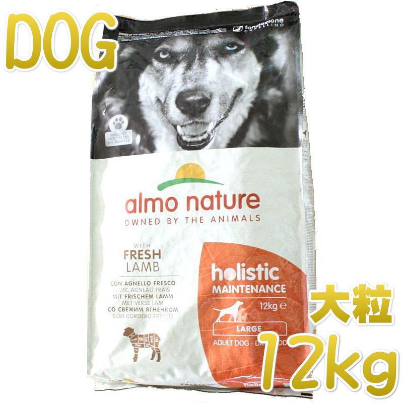 最短賞味2022.4 アルモネイチャー 限定タイムセール 犬 ラム 大粒 ドッグフードalmo 12kg ald761成犬用ホリスティック 卓越 nature正規品