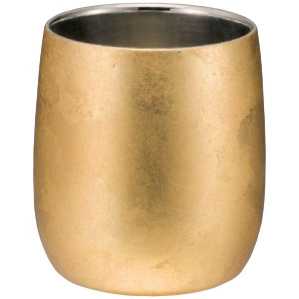 漆磨 箔衣 2重ダルマカップ(内祝い 結婚内祝い 出産内祝い 景品 結婚祝い 引き出物 香典返し ギフト お返し)(キャッシュレス5%還元)