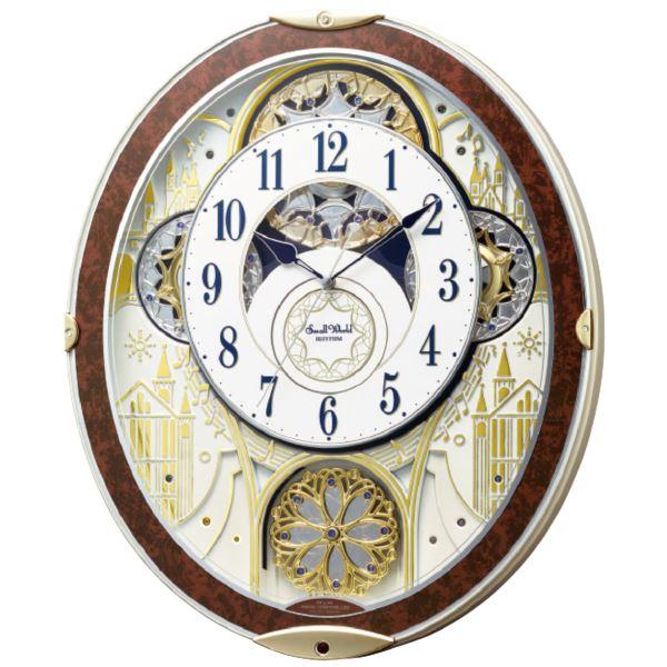 スモール・ワールド 電波からくり掛時計(内祝い 結婚内祝い 出産内祝い 景品 結婚祝い 引き出物 香典返し ギフト お返し)(キャッシュレス5%還元)