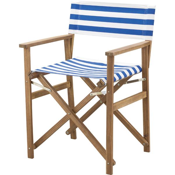 ディレクターチェア(メーカー直送 椅子 アウトドア キャンプ用品 人気 おすすめ 東谷 azumaya 家具 北欧 カントリー 新生活応援)(キャッシュレス5%還元)