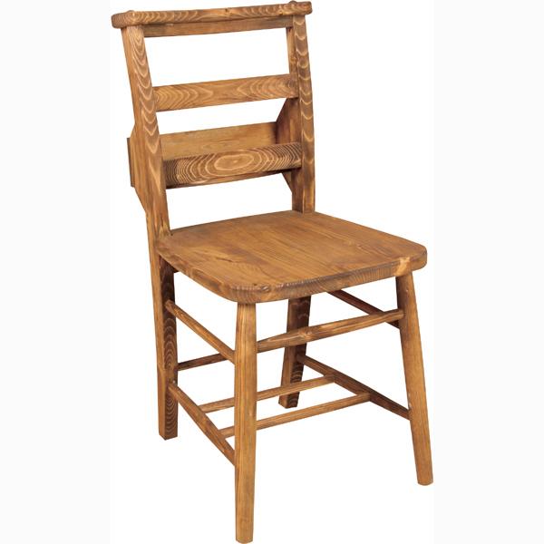 Foret(フォレ)ダイニングチェア 幅40cm奥行47cm高さ80cm座面高さ43cm(メーカー直送 天然木 木製 無垢 チャーチチェア 椅子 いす インテリア 家具 北欧 カントリー 人気 新生活応援)(キャッシュレス5%還元)