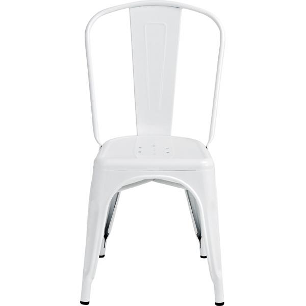 クレールチェアアイボリー 幅45cm(メーカー直送 スチール 椅子 イス ガーデン ダイニング インテリア 家具 ヴィンテージ レトロ オシャレ 人気 AZUMAYA 東谷 新生活応援)(キャッシュレス5%還元)