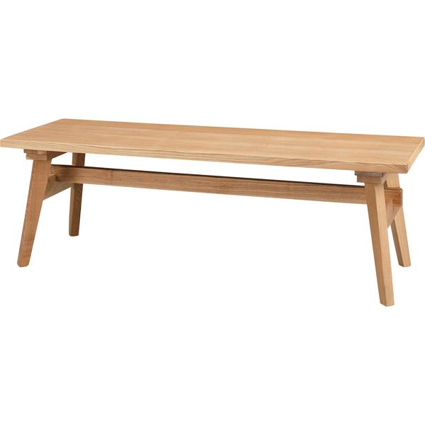 ベンチ Moti(モティ)ナチュラル 幅120cm(メーカー直送 天然木 木製 椅子 イス いす 二人掛け 三人掛け インテリア 家具 ナチュラル シンプル 北欧 オシャレ 人気 AZUMAYA 東谷 新生活応援)(キャッシュレス5%還元)