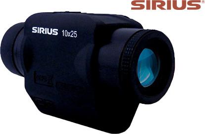 防振スコープ シリウス 10×25(アウトドア用品 アウトドアグッズ キャンプ用品 車中泊 便利グッズ 精密機器 正規品 新生活応援)(キャッシュレス5%還元)