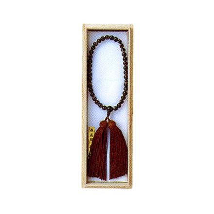 数珠 念珠 女性用茶水晶