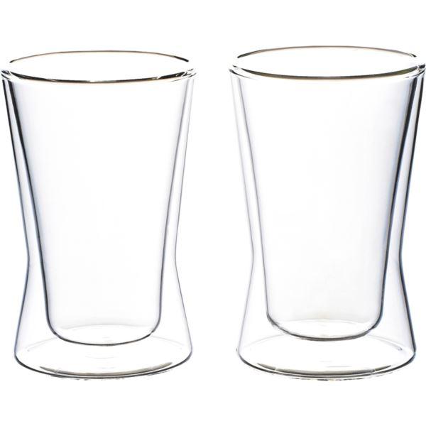 【まとめ買い10セット】ウェルナーマイスター 耐熱二重ガラス・タンブラーペアセット 800-542(内祝い 結婚内祝い 出産内祝い 景品 結婚祝い 引き出物 香典返し お返し ギフト)(キャッシュレス5%還元)