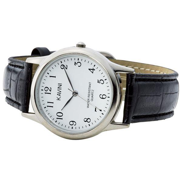 【まとめ買い10セット】カビーニ 紳士リストウォッチ K3149AG-1(腕時計(メンズ))(内祝い 結婚内祝い 出産内祝い 新築祝い 就職祝い 敬老の日ギフト 結婚祝い お返し スーパーセール)