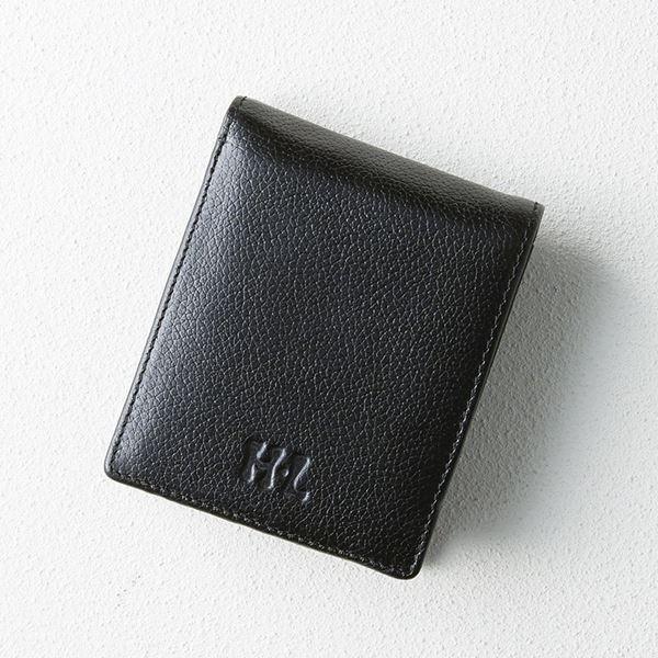 【まとめ買い10セット】アッシュエル パスケース付き二つ折財布/ブラック S-HLM100210BK(ブランド財布)(内祝い 結婚内祝い 出産内祝い 新築祝い 就職祝い 結婚祝い お返し)(キャッシュレス5%還元)