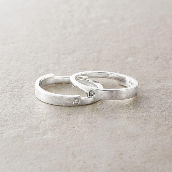 2連ダイヤモンドリング/11号 2545R(日本製 指輪 アクセサリー)(内祝い 結婚内祝い 出産内祝い 新築祝い 就職祝い 結婚祝い 引き出物 お返し)(キャッシュレス5%還元)