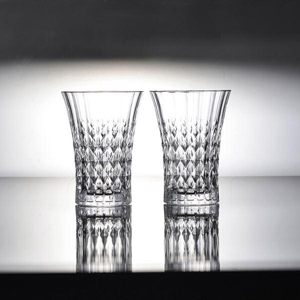 クリスタル・ダルク レディーダイヤモンド タンブラー6客セット L9746C(フランス製 洋ガラス食器)(内祝い 結婚内祝い 出産内祝い 新築祝い 就職祝い 結婚祝い 引き出物 お返し)(お買い物マラソンセール キャッシュレス5%還元)