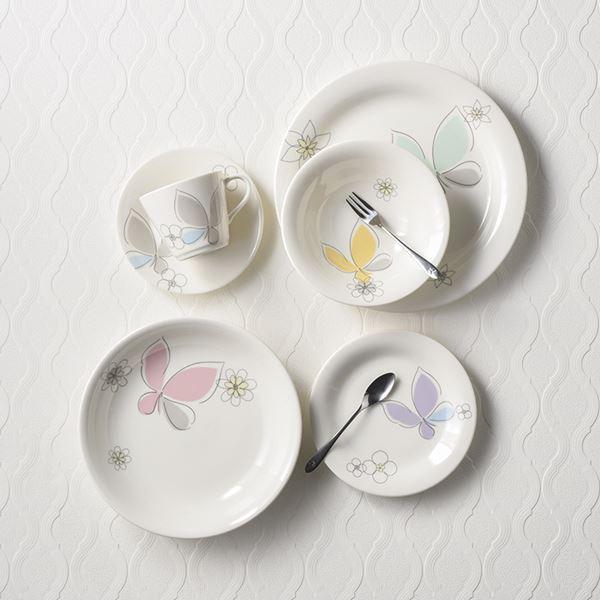 ハナエモリ ペタル 40ピースホームセット MB4401-221-40(日本製 洋食器)(内祝い 結婚内祝い 出産内祝い 新築祝い 就職祝い 結婚祝い 引き出物 お返し 新生活応援)(キャッシュレス5%還元)
