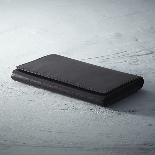 ソフトオイルレザー カード24枚収納財布/ブラック TA40-01(日本製 財布)(内祝い 結婚内祝い 出産内祝い 新築祝い 就職祝い 結婚祝い 引き出物 お返し)(キャッシュレス5%還元)