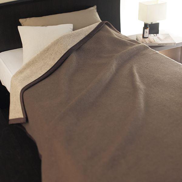 カシミヤ ウール毛布(毛羽部分)(リバーシブル) HOR-30200(日本製 毛布)(内祝い 結婚内祝い 出産内祝い 新築祝い 就職祝い 結婚祝い 引き出物 お返し 新生活応援)(キャッシュレス5%還元)