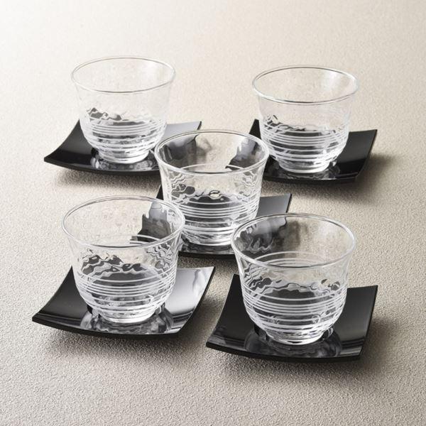 【まとめ買い10セット】夏景色 冷茶セット G053-T160(日本製 和ガラス食器)(内祝い 結婚内祝い 出産内祝い 新築祝い 就職祝い 結婚祝い 引き出物 お返し)(キャッシュレス5%還元)