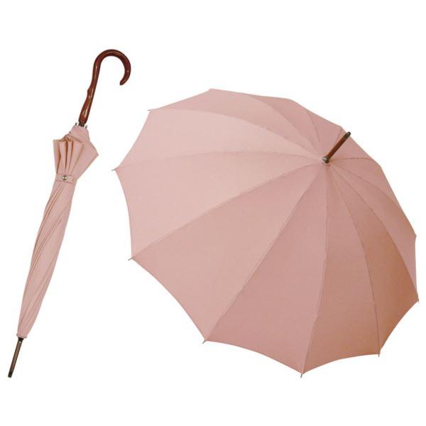 匠 有村 職人の手作り 和風12本骨晴雨兼用傘/牡丹(ボタン) OBAR-12A(日本製 傘)(内祝い 結婚内祝い 出産内祝い 新築祝い 就職祝い 結婚祝い 引き出物 香典返し お返し)(キャッシュレス5%還元)