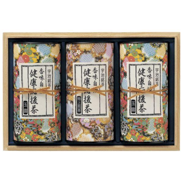 宇治茶 健康応援茶(R) KO7-100A(日本茶)(内祝い 結婚内祝い 出産内祝い 新築祝い 就職祝い 結婚祝い 引き出物 香典返し お返し)(キャッシュレス5%還元)