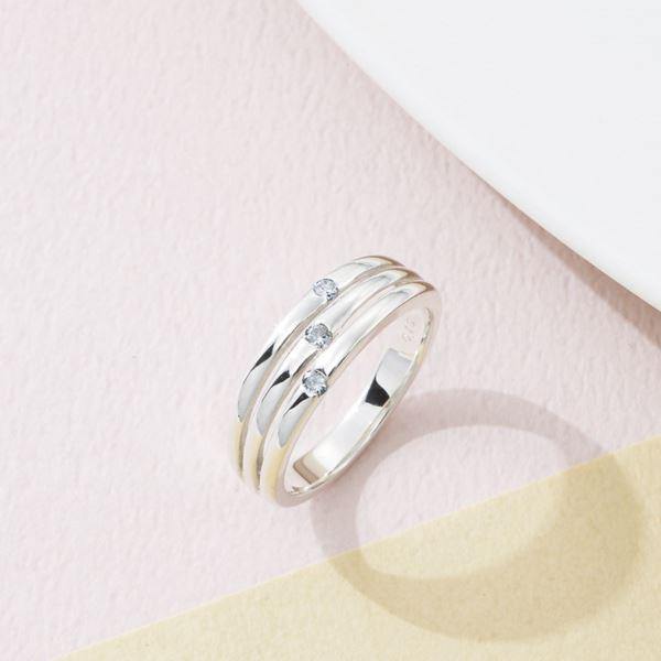 ウルティマ シルバーダイヤモンドファッションリング/13号 CHR1946DIA(日本製 指輪 アクセサリー)(内祝い 結婚内祝い 出産内祝い 新築祝い 就職祝い 結婚祝い 引き出物 お返し)(キャッシュレス5%還元)