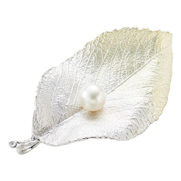【まとめ買い10セット】パール・パール・コウベ 本真珠リーフブローチ さくら BRS2-361-65(日本製 アクセサリー)(内祝い 結婚内祝い 出産内祝い 新築祝い 就職祝い 結婚祝い 引き出物 お返し)