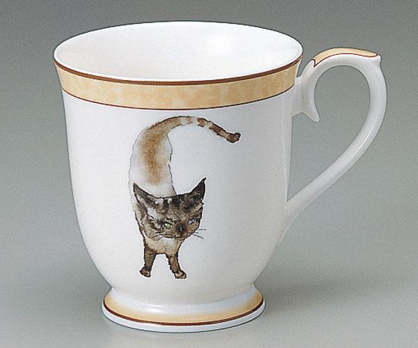 NARUMI(ナルミ)いわさきちひろ マグカップ(碧い目の黒猫(10個セット)(マグカップ)(内祝い 結婚祝い 父の日ギフト 入学祝い 出産内祝い 新築祝い 結婚祝い 父の日ギフト 入学祝い 引き出物 お返し)