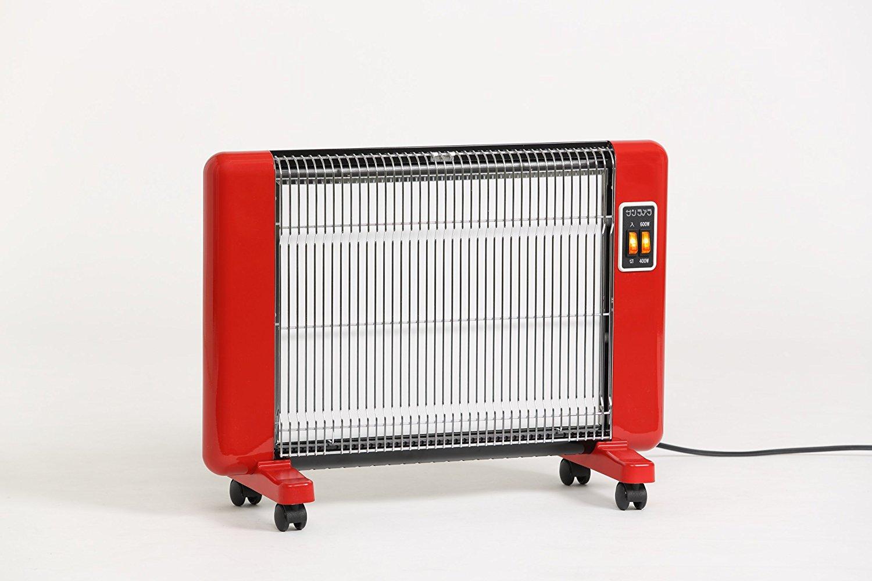 サンラメラ サンラメラ 600W型 Fレッド 遠赤外線輻射式セラミックヒーター Fレッド 輻射式ですので人体や床 600W型、壁を直接あたため室温を均一に暖房, あそびくらぶ:69bd971e --- sunward.msk.ru