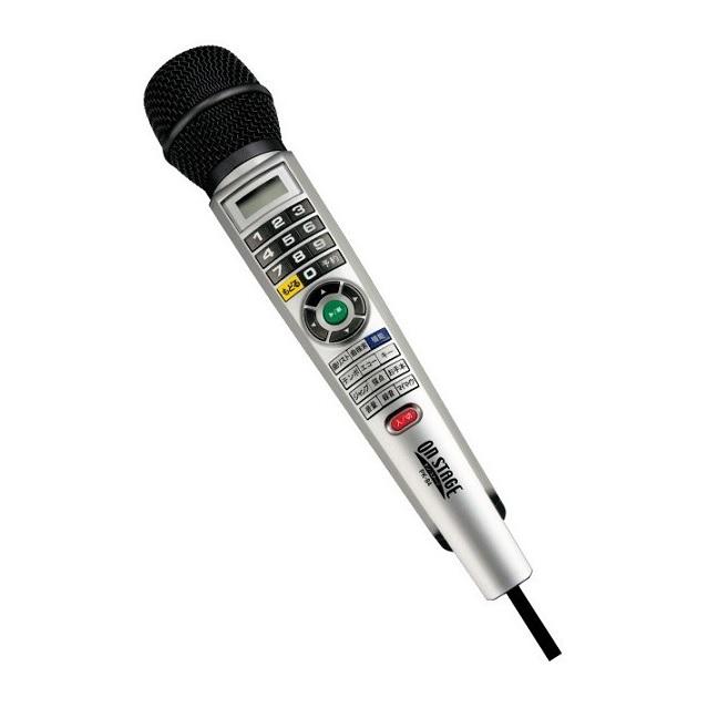 ◆送料無料◆オンステージ PK-84(S) シルバー パーソナルカラオケ デジタルワイヤードタイプ 有線タイプ 800曲内蔵