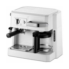 デロンギ BCO410J-W コンビコーヒーメーカー ホワイト 本格的な贅沢3メニューを、たった1台で同時に愉しめます 父の日