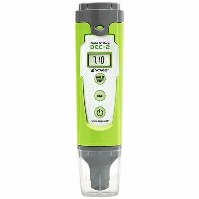 デジタルECメーター DEC-2 どんな場所でも簡単操作で導電率(EC)測定ができます アタゴ【お取り寄せ商品ご注文時メーカー欠品の場合納期2~3週間】